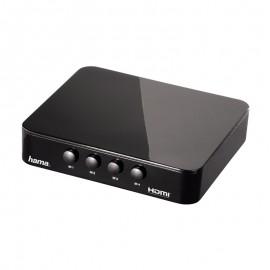 Switcher HDMI - 4 en 1 - Hama - Full HD