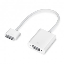 Adaptateur VGA pour iPad/iPod/iPhone 30 Broches