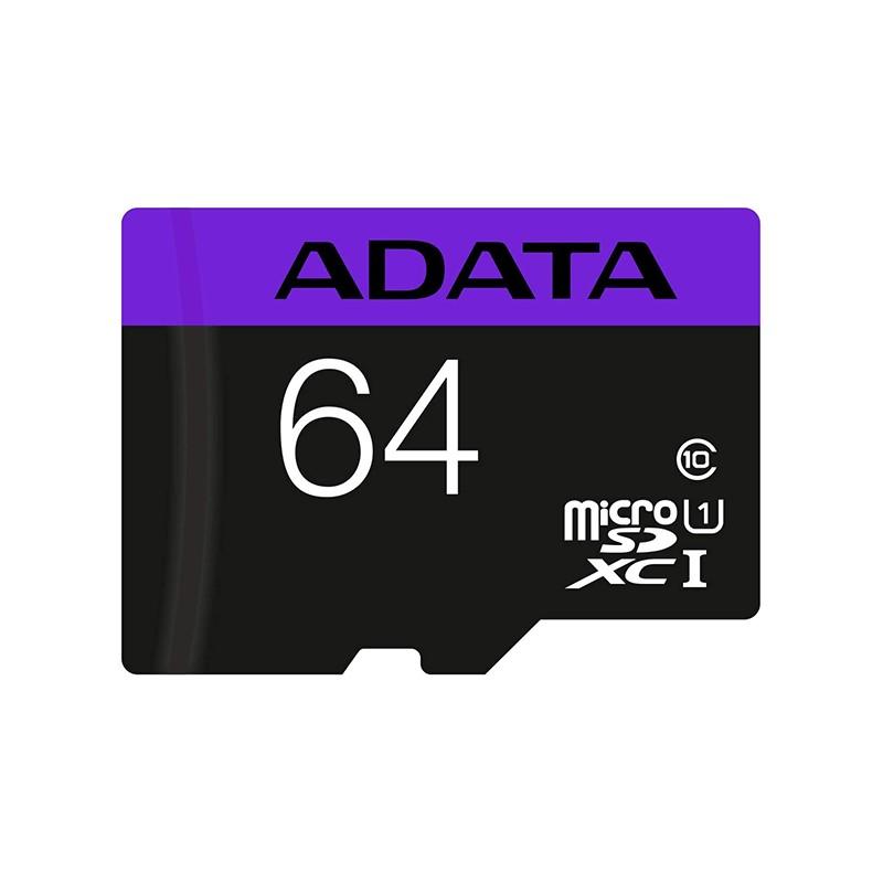 Carte Mémoire Micro SDXC 64GB - ADATA Tunisie