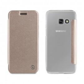 Étui Muvit Folio Samsung Galaxy A3 2017 - Gold