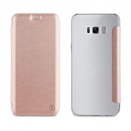 Étui Muvit folio Samsung Galaxy S8 Plus - Rose
