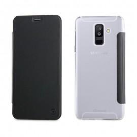 Muvit Etui Folio Noir - Samsung Galaxy A6+ 2018