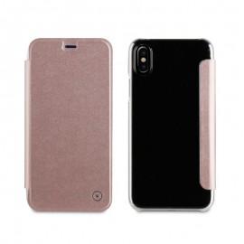 Étui FOLIO MUVIT pour iPhone X/XS - Rose