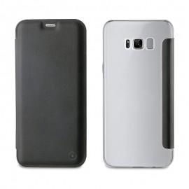 Étui Muvit Folio Samsung Galaxy S8 Plus - Noir