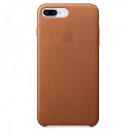 Coque de protection Cuir IPhone 8 Plus - Marron