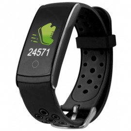 Bracelet connecté KSIX Fitness Band HR2 - Noir