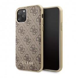 Coque rigide GUESS pour iPhone 11 Pro - Marron