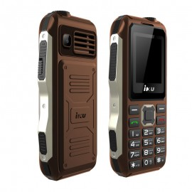 Téléphone Portable IKU S10 Double Sim - Marron