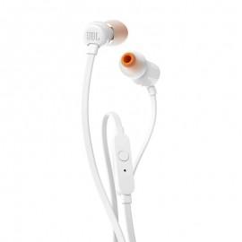 Écouteurs Main libre JBL T110 - Blanc