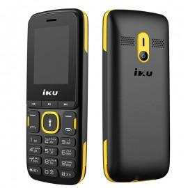 Téléphone Portable IKU F105 Double SIM - Jaune