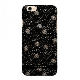 Coque de Protection SO SEVEN Flocons Noire:...