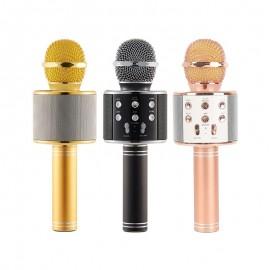 Microphone Karaoke sans fil et haut-parleur -...