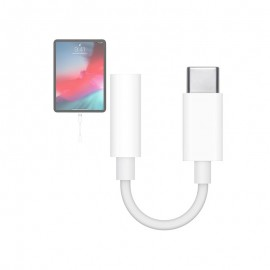 Adaptateur USB-C vers Prise Jack 3.5 mm (A2155)