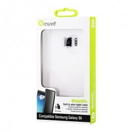 Coque de protection Silicone Muvit Samsung...