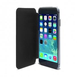 Étui Muvit Crystal Folio IPhone 6 Plus - Noir