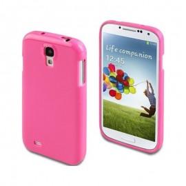 Coque silicone Muvit Galaxy S4 - rose