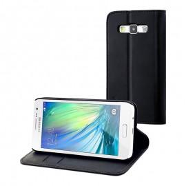 Étui Folio Muvit Galaxy A3 - Noir
