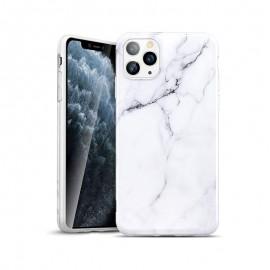 Etui Silicone Effet Marbré pour iPhone 11 Pro Max