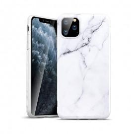 Etui Silicone Effet Marbre pour iPhone 11 Pro