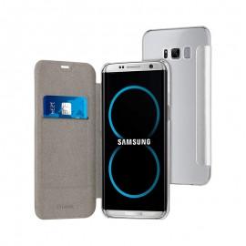 Etui Muvit Folio Samsung Galaxy S8 Plus - Gris