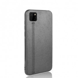 Coque de protection Effet Cuir Huawei Y5p