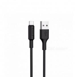 Câble HOCO USB Vers Micro USB 1M - Noir