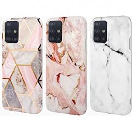 Etui Silicone Effet Marbré Samsung Galaxy A51