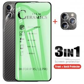 FILM Ceramic anticasse iphone 12 tunisie