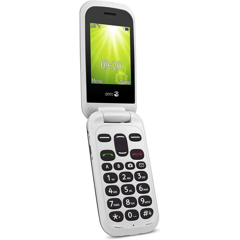 Téléphone DORO 2404 blanc Hayeti Tunisie