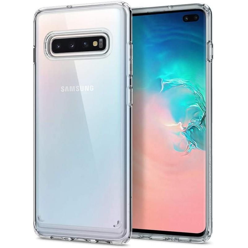 Coque Rigide Transparent Pour Samsung Galaxy S10 Plus Tunisie