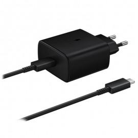 Chargeur Samsung Ultra Rapide 45W USB Type-C  Noir Tunisie