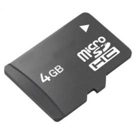 Carte Mémoire Micro SD 4Gb