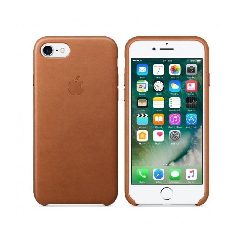 leather case etui cui original iPhone 7 apple tunisie