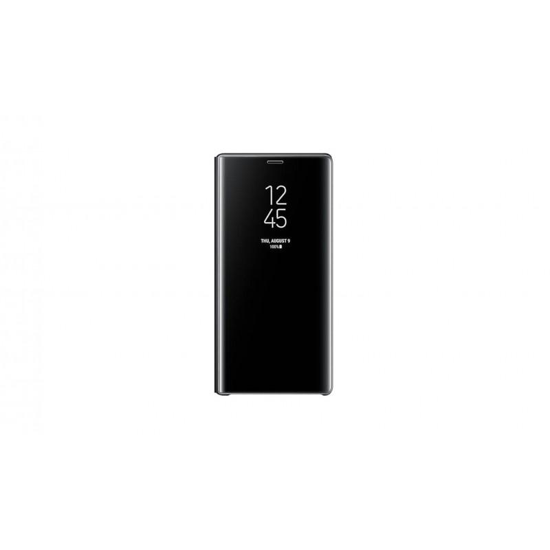 Etui Clear View Samsung Galaxy Note 9 Noir Tunisie