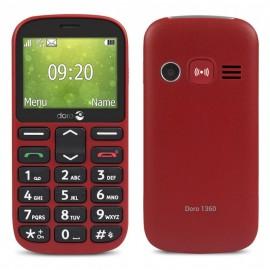 Téléphone Portable Doro 1360 Rouge Tunisie
