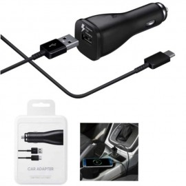 Chargeur Auto Allume Cigare Fast Charge USB Type-C 15W - Samsung Original