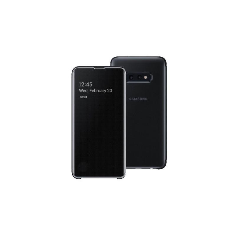 Etui Clear View Pour Samsung Galaxy S10e - Noir Tunisie