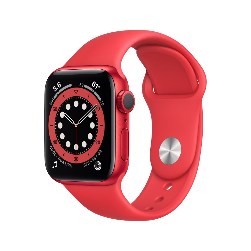 apple watch series 6 rouge Tunisie