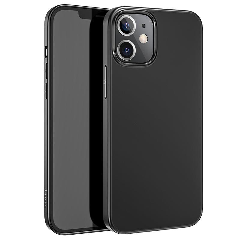 Coque hoco Creative Case iPhone 12 / 12 Pro  - Noir