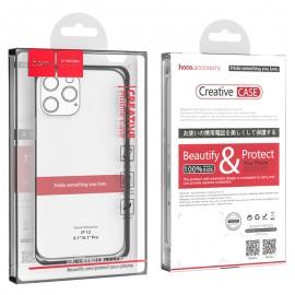Coque hoco Creative Case iPhone 12 / 12 Pro  - Transparente