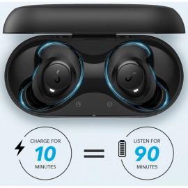 Écouteurs sans fil ANKER SoundCore Life Dot 2 100-Hour Playtime - Noir - Tunisia
