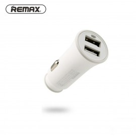 Chargeur voiture Remax 2.4A - Blanc