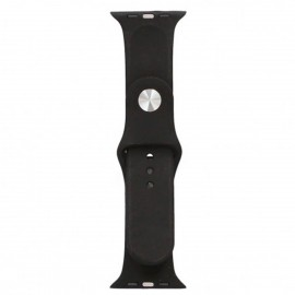Bracelet Silicone CONTACT Apple Watch 42/44mm - Noir