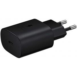 Chargeur Secteur Rapide Samsung Type-C 25W (sans câble) - Noir