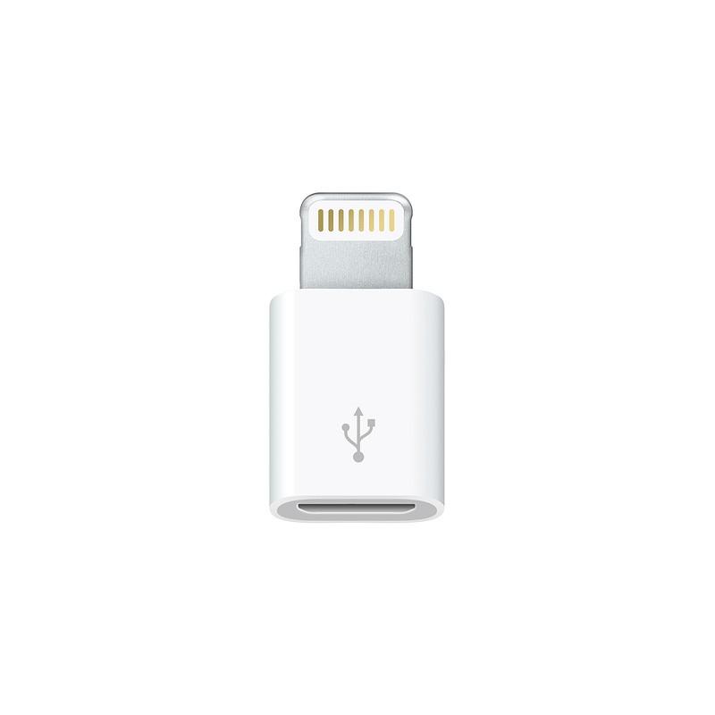 adaptateur lightning micro usb