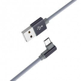 Cable Micro-USB Borofone BX26 1M / 2.4A -Gris