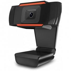 Webcam Filaire USB HD 720P Platinet - Noir