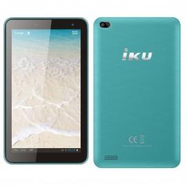 """TABLETTE IKU T4 7"""" 16GB  - TURQUOISE"""