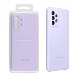 Coque En Silicone Pour Samsung Galaxy A72 - Violet