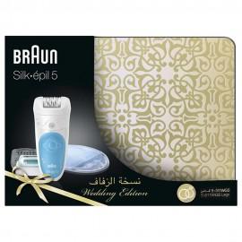 Épilateur électrique BRAUN Silk-épil 5 - Coffret Mariage
